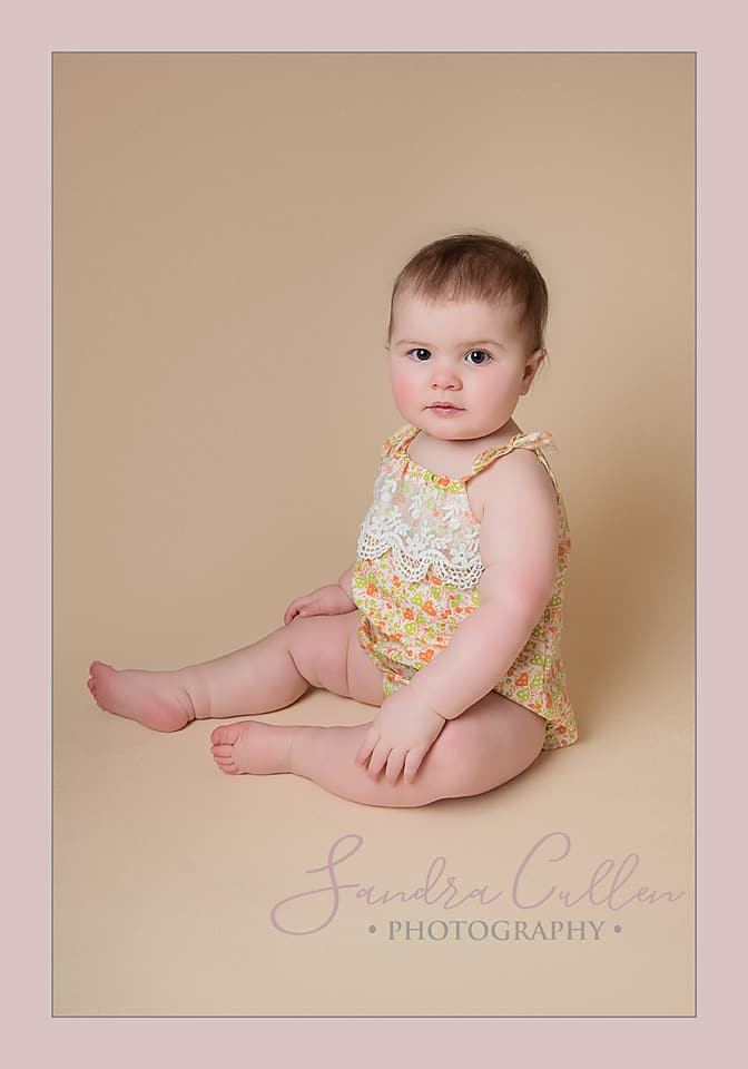 Baby's first year photo session