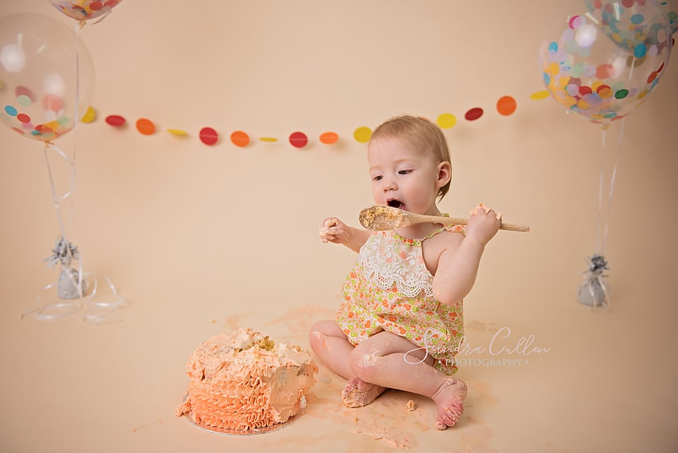 A first birthday celebration is one of the photos you should take of your children